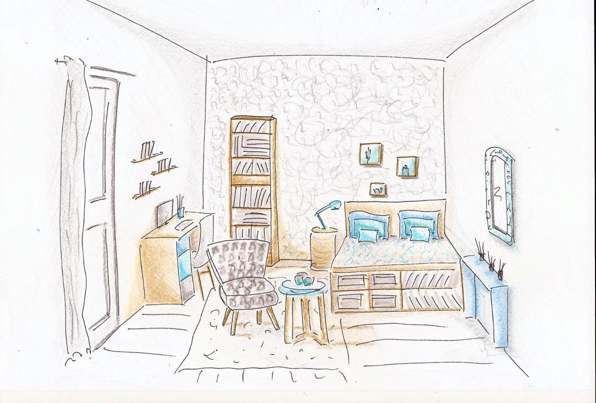 ©decoetcouleurs.com Anne Roulin-Chéné décoratrice d'intérieur