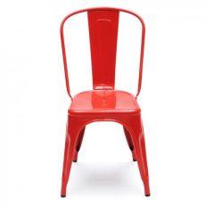 La chaise A rouge Tolix