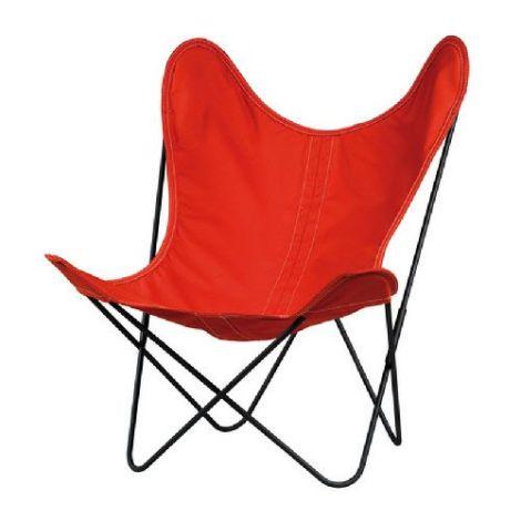 Fauteuil rouge pliable, le fauteuil AA