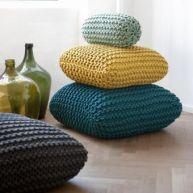 Coussins au crochet