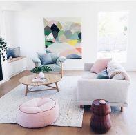 salon aux couleurs douces