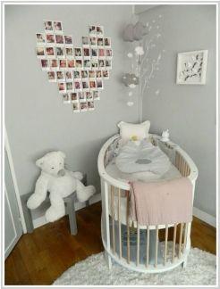 Chambre de bébé aux couleurs douces