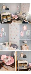Chambre pour bébé fille