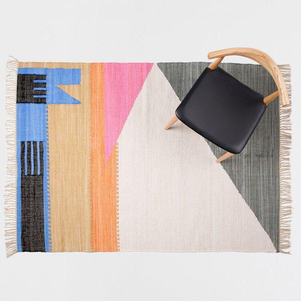 Tapis Coton Colore Zara Home Deco Couleurs